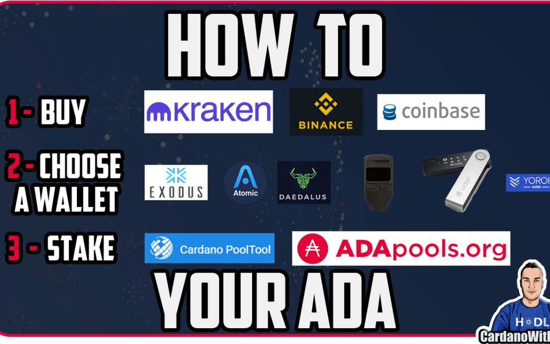How To Buy Cardano, Choose a Wallet and Stake Your ADA