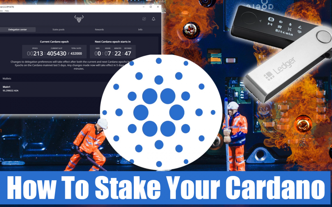 How to Stake Your Cardano To A Stake Pool