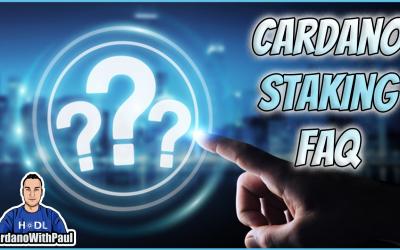 Cardano Staking FAQ